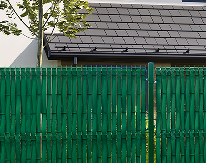 SimpleLine - FENCE STRIPS MOUNTED VERTICAL - Thermoplast