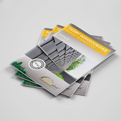Katalog Taśm Ogrodzeniowych - Thermoplast