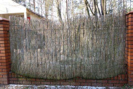 ogrodzenie wiklinowe
